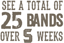 Rockin' the River with your favorite bands!