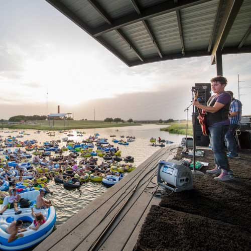 Travel + Leisure: You Can Enjoy a Live Concert While Floating on a River in Texas
